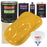 Citrus Yellow - LOW VOC Urethane Basecoat with Clearcoat Auto Paint - Complete Slow Gallon Paint Kit - Professional High Gloss Automotive Coating
