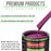 Magenta - LOW VOC Urethane Basecoat with Premium Clearcoat Auto Paint - Complete Medium Gallon Paint Kit - Professional High Gloss Automotive Coating