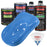 Grabber Blue - LOW VOC Urethane Basecoat with Clearcoat Auto Paint - Complete Medium Quart Paint Kit - Professional High Gloss Automotive Coating