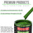 Deere Green - LOW VOC Urethane Basecoat with Premium Clearcoat Auto Paint - Complete Medium Quart Paint Kit - Professional High Gloss Automotive Coating
