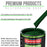 Speed Green - LOW VOC Urethane Basecoat with Clearcoat Auto Paint - Complete Medium Quart Paint Kit - Professional High Gloss Automotive Coating
