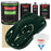 British Racing Green - LOW VOC Urethane Basecoat with Premium Clearcoat Auto Paint - Complete Medium Gallon Paint Kit - Professional High Gloss Automotive Coating