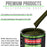Olive Drab Green - LOW VOC Urethane Basecoat with Clearcoat Auto Paint - Complete Medium Gallon Paint Kit - Professional High Gloss Automotive Coating