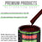 Carmine Red - LOW VOC Urethane Basecoat Auto Paint - Quart Paint Color Only - Professional High Gloss Automotive Coating
