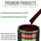 Burgundy - LOW VOC Urethane Basecoat with Clearcoat Auto Paint - Complete Medium Gallon Paint Kit - Professional High Gloss Automotive Coating