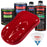 Quarter Mile Red - LOW VOC Urethane Basecoat with Clearcoat Auto Paint - Complete Medium Quart Paint Kit - Professional High Gloss Automotive Coating