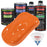 California Orange - LOW VOC Urethane Basecoat with Clearcoat Auto Paint - Complete Medium Quart Paint Kit - Professional High Gloss Automotive Coating