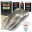 Warm Gray Metallic - LOW VOC Urethane Basecoat with Premium Clearcoat Auto Paint - Complete Slow Gallon Paint Kit - Professional High Gloss Automotive Coating