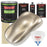 Cashmere Gold Metallic - LOW VOC Urethane Basecoat with Premium Clearcoat Auto Paint - Complete Medium Gallon Paint Kit - Professional High Gloss Automotive Coating