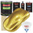 Anniversary Gold Metallic - LOW VOC Urethane Basecoat with Premium Clearcoat Auto Paint - Complete Slow Gallon Paint Kit - Professional High Gloss Automotive Coating