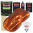 Inferno Orange Pearl Metallic - LOW VOC Urethane Basecoat with Clearcoat Auto Paint - Complete Fast Gallon Paint Kit - Professional High Gloss Automotive Coating