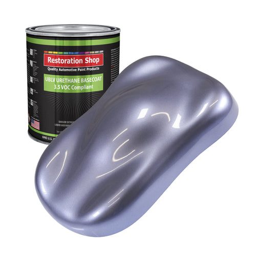 Astro Blue Metallic - LOW VOC Urethane Basecoat Auto Paint - Gallon Paint Color Only - Professional High Gloss Automotive, Car, Truck Refinish Coating