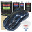 Moonlight Drive Blue Metallic - LOW VOC Urethane Basecoat with Clearcoat Auto Paint - Complete Medium Gallon Paint Kit - Professional High Gloss Automotive Coating