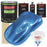 Intense Blue Metallic - LOW VOC Urethane Basecoat with Premium Clearcoat Auto Paint - Complete Slow Gallon Paint Kit - Professional High Gloss Automotive Coating