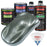 Steel Gray Metallic - LOW VOC Urethane Basecoat with Clearcoat Auto Paint - Complete Medium Quart Paint Kit - Professional High Gloss Automotive Coating