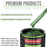British Racing Green Metallic - LOW VOC Urethane Basecoat with Premium Clearcoat Auto Paint - Complete Medium Gallon Paint Kit - Professional High Gloss Automotive Coating