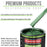 Emerald Green Metallic - LOW VOC Urethane Basecoat Auto Paint - Quart Paint Color Only - Professional High Gloss Automotive Coating