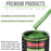 Gasser Green Metallic - LOW VOC Urethane Basecoat Auto Paint - Quart Paint Color Only - Professional High Gloss Automotive Coating