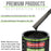 Black Diamond Firemist - LOW VOC Urethane Basecoat with Clearcoat Auto Paint - Complete Medium Gallon Paint Kit - Professional High Gloss Automotive Coating