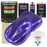 Firemist Purple - LOW VOC Urethane Basecoat with Clearcoat Auto Paint - Complete Slow Gallon Paint Kit - Professional High Gloss Automotive Coating