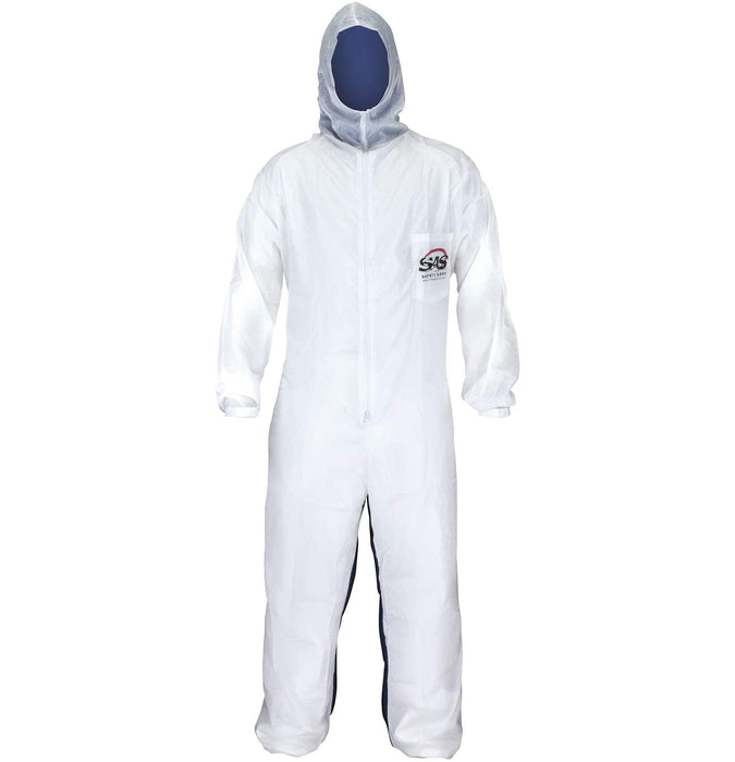 Moonsuit Nylon Front/Cotton Back Coverall, Medium