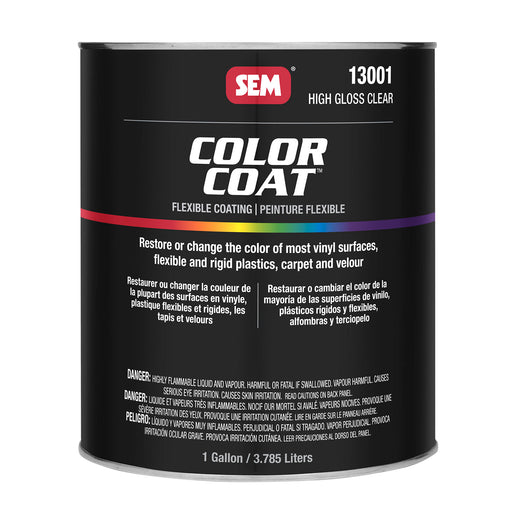 Color Coat - High Gloss Refinishing Clear, 1 Gallon