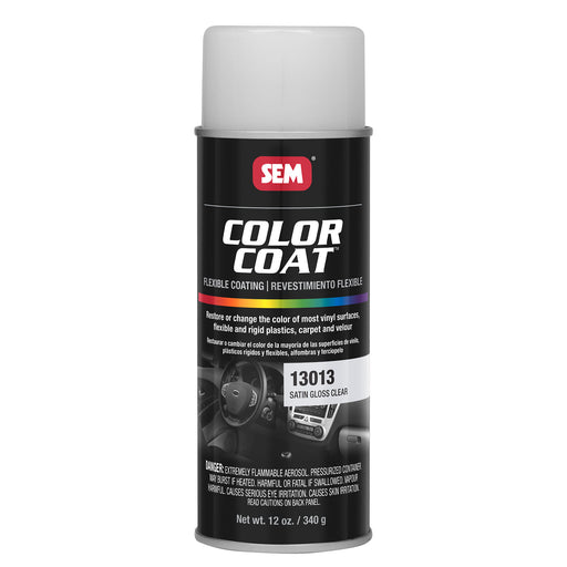 Color Coat - Satin Gloss Refinishing Clear, 12 oz. Aerosol