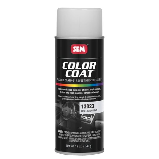 Color Coat - Low Luster Refinishing Clear, 12 oz. Aerosol