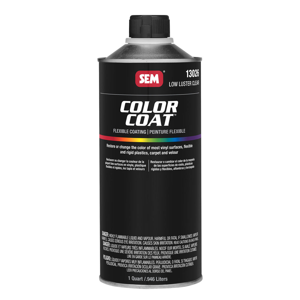 Color Coat - Low Luster Refinishing Clear, 1 Quart Cone Top