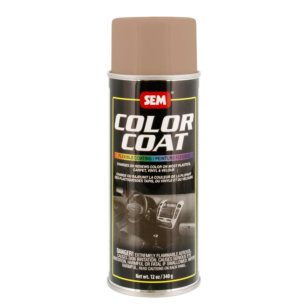 Color Coat - Plastic & Vinyl Flexible Coating, Light Buckskin, 12 oz. Aerosol