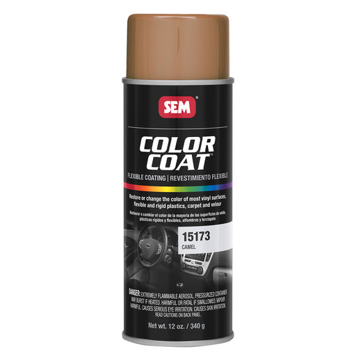 Color Coat - Plastic & Vinyl Flexible Coating, Camel, 12 oz. Aerosol