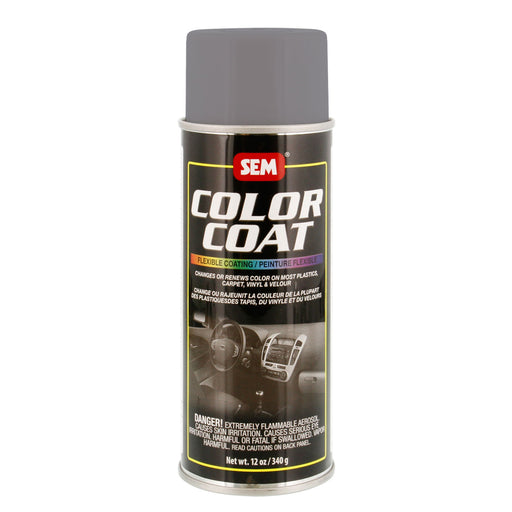 Color Coat - Plastic & Vinyl Flexible Coating, Warm Gray, 12 oz. Aerosol