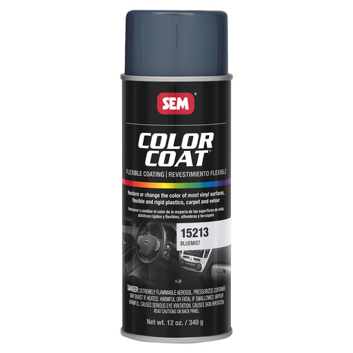 Color Coat - Plastic & Vinyl Flexible Coating, Bluemist, 12 oz. Aerosol