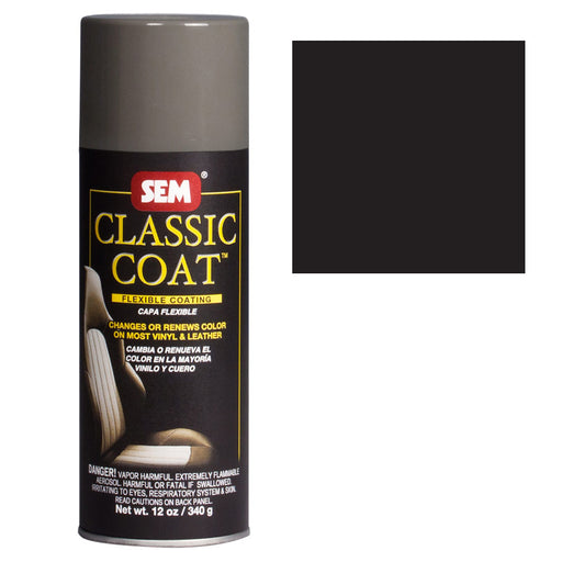 CLASSIC COAT - Flat Black, 16oz Aerosol Can