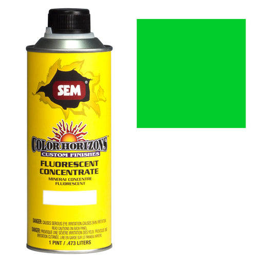 Color Horizons - Fluorescent Concentrate, Mean Green, 1 Pint