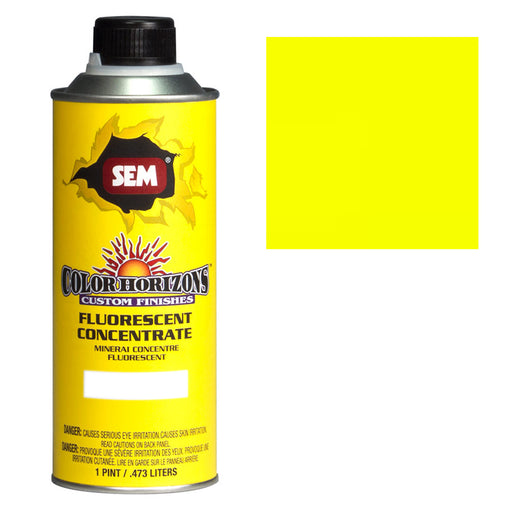 Color Horizons - Fluorescent Concentrate, Wild Chartreuse, 1 Pint