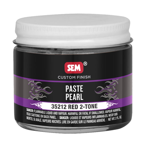 Color Horizons - Paste Pearls, 2-tone, Red, 2 oz. Jar