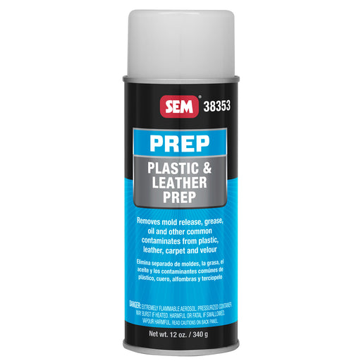 Plastic & Leather Prep, Removes Contaminants, 16 oz. Aerosol