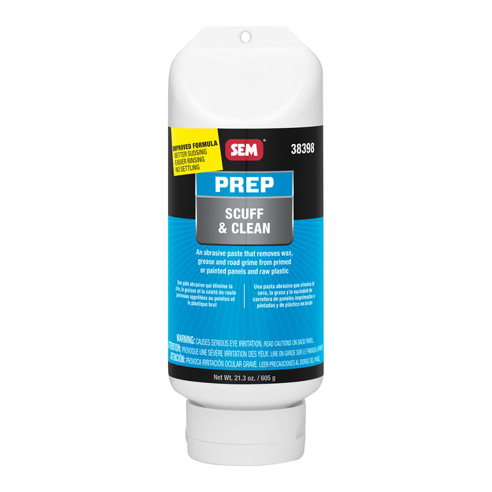 Scuff & Clean, Fast Cleaning and Sanding Action, 16 oz. Tube