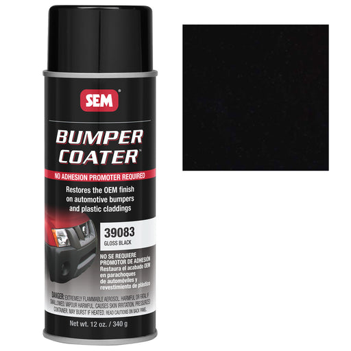 Bumper Coater, Renew Original Appearance, Gloss Black, 12 oz. Aerosol