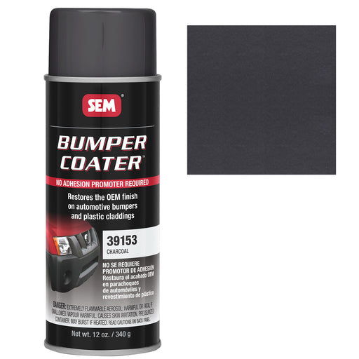 Bumper Coater, Renew Original Appearance, Charcoal, 12 oz. Aerosol