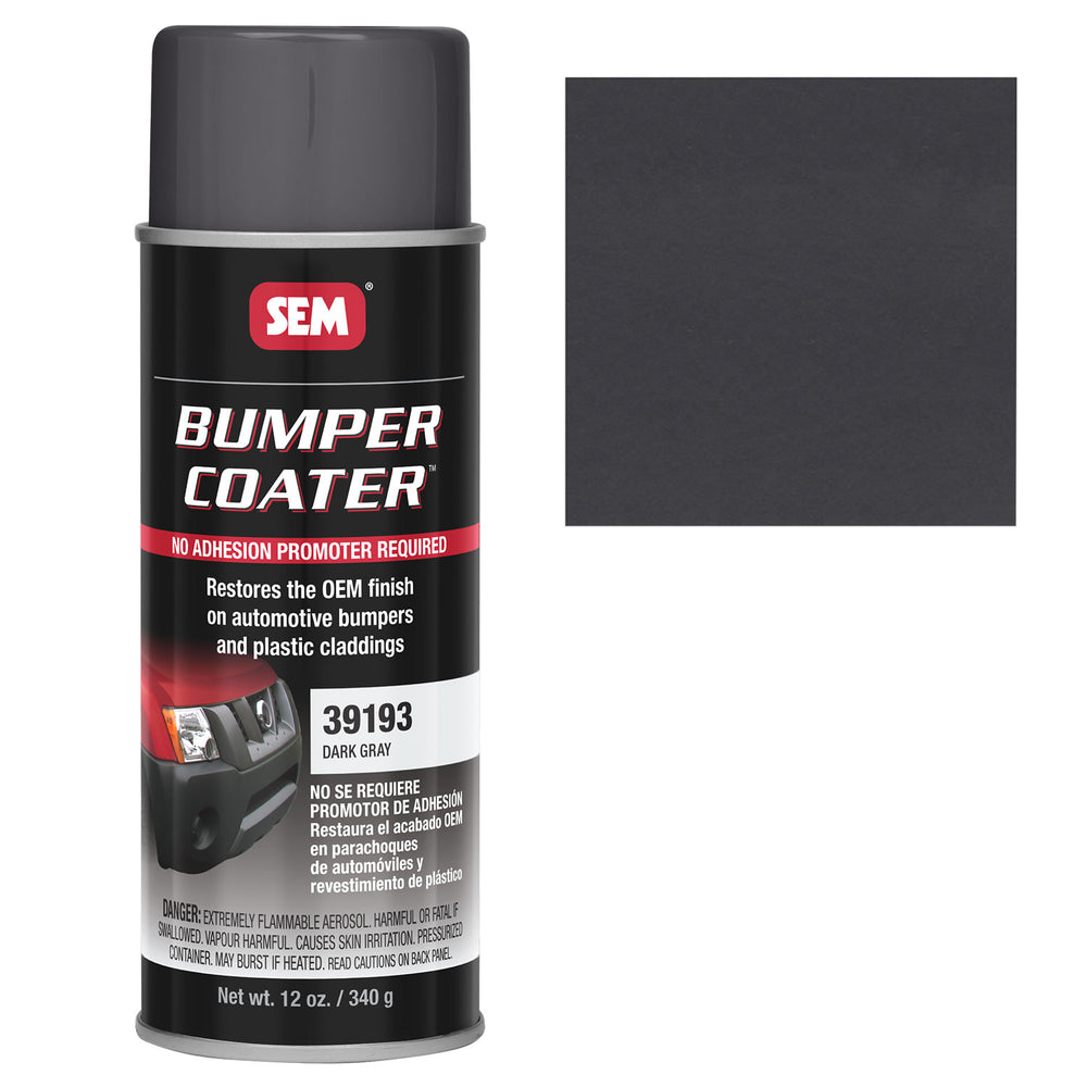 Bumper Coater, Renew Original Appearance, Dark Gray, 12 oz. Aerosol
