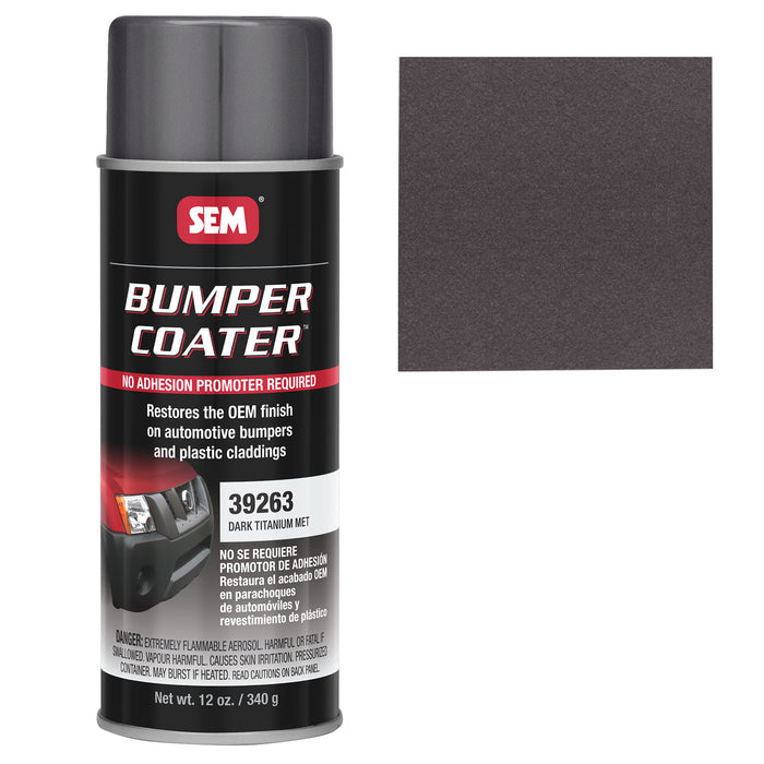 Bumper Coater, Renew Original Appearance, Dark Titanium Metallic, 12 oz. Aerosol