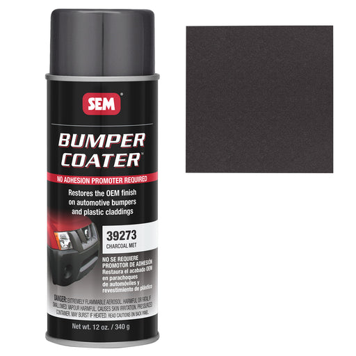 Bumper Coater, Renew Original Appearance, Charcoal Metallic, 12 oz. Aerosol