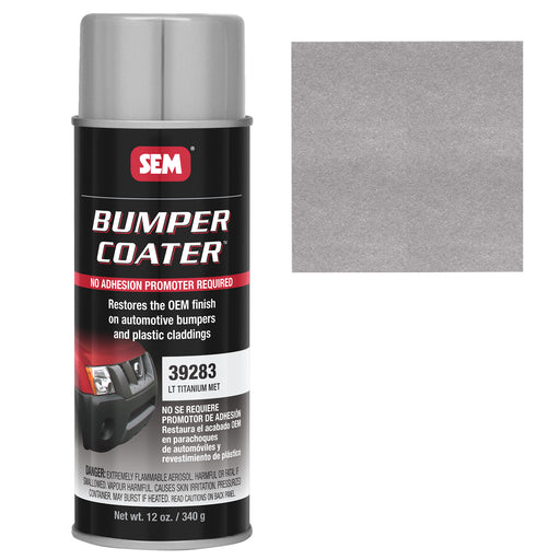 Bumper Coater, Renew Original Appearance, Light Titanium Metallic, 12 oz. Aerosol