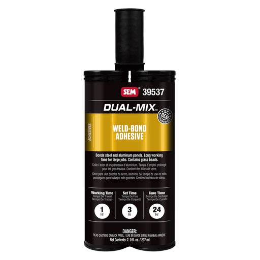 Dual-Mix - Weld-Bond Adhesive, Exceeds FMVSS 208, 7 oz. Cartridge