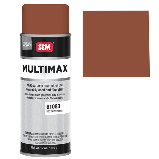 Promax - General Purpose Enamel, Red Oxide Primer, 16 oz. Aerosol