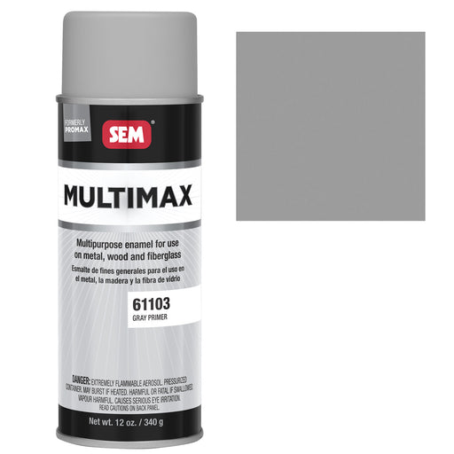 Promax - General Purpose Enamel, Gray Primer, 16 oz. Aerosol
