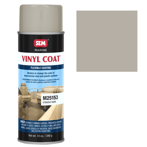 Marine Vinyl Restoration Coating, Stingray Taupe, 12 oz. Aerosol