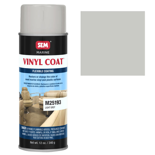 Marine Vinyl Restoration Coating, Light Grey, 12 oz. Aerosol